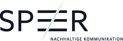 SPEER / Nachhaltige Kommunikation Logo